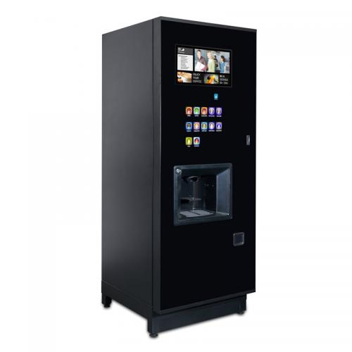 Step beverage machine