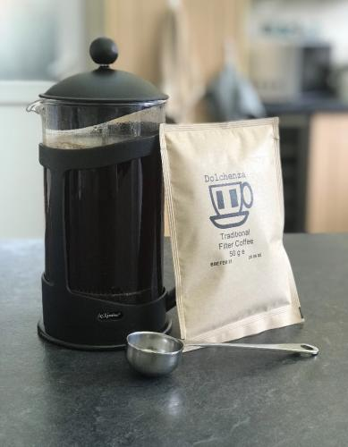 Filter coffee + cafetiere deal